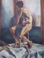 """""""Igor"""", 2010 Oil on canvas 140x180cm"""
