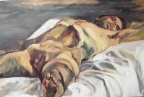 """""""Reclining nude"""", 2011 Oil on canvas 150x100cm"""