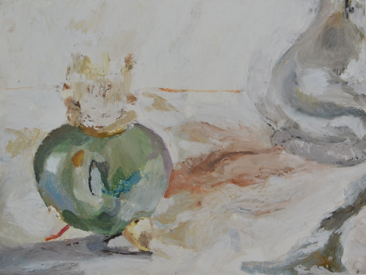 """Igor's lamp"", 2012 Oil pastel on paper 40.5x30.5cm"